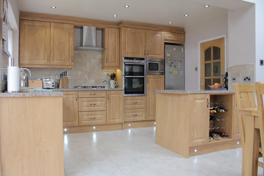 New kitchen dining space created in Pensby, Wirral by The Open Plan Building Co.